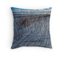 The Coldest Day - Water's Edge Throw Pillow