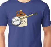 Moonshine playing a banjo Unisex T-Shirt