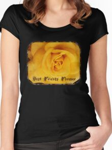BFF ~ Best Friends Forever Women's Fitted Scoop T-Shirt