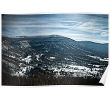 Powell Valley Winter Serenity Poster