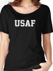 USAF Air Force Physical Training US Military Women's Relaxed Fit T-Shirt