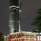 Bakrie Tower (by night) by Property &amp; Construction Photography