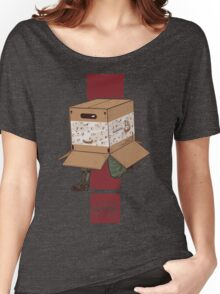 Think INSIDE the box. Women's Relaxed Fit T-Shirt