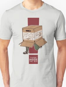 Think INSIDE the box. T-Shirt