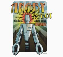 Angry Robot t-shirt Kids Clothes