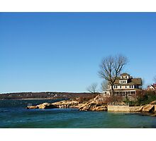 House At Niles Beach, Gloucester, Massachusetts Photographic Print