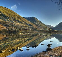 Brotherswater in January by Jamie  Green