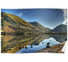 Brotherswater in January Poster