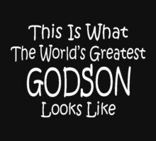 Worlds Greatest GODSON Birthday Christmas Gift One Piece - Long Sleeve