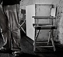 Legs and Chair by Pene Stevens