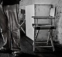 Legs and Chair by Pene Stevens