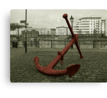 Anchors away. Canvas Print