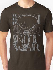 make bread not war tshirt by rogers bros T-Shirt
