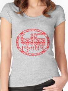 uk rogers bros tshirt by rogers bros Women's Fitted Scoop T-Shirt