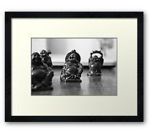 Mini buddha  Framed Print