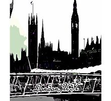 London, UK by cheeckymonkey