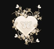 Valentine Heart Womens Fitted T-Shirt