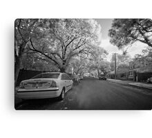 Right Here, I fall in love Canvas Print