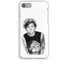 punk louis in flower crown iPhone Case/Skin