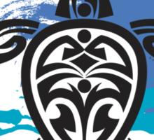 Tribal Turtle Maui Sticker