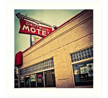 Driftwood Motel & Diner  Art Print