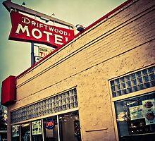 Driftwood Motel & Diner  by John  De Bord Photography