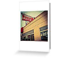 Driftwood Motel & Diner  Greeting Card