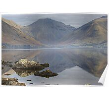 Great Gable At The Head Of Wasdale Poster