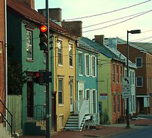 Historic Downtown Frederick, MD by MaureenS