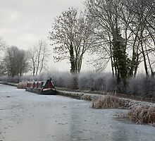 Frozen Canal by Andy Stafford