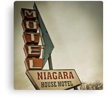 Niagara House Metal Print