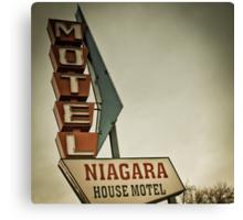 Niagara House Canvas Print