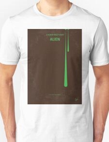 No004 My Alien minimal movie poster T-Shirt
