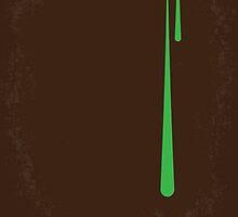 No004 My Alien minimal movie poster by JinYong