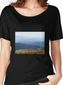 Misty Mountains - Victoria's High Country Women's Relaxed Fit T-Shirt