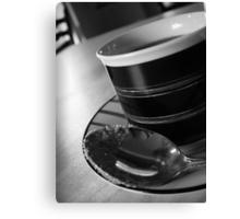 Espresso Time Canvas Print