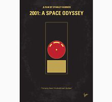 No003 My 2001 A space odyssey minimal movie poster T-Shirt