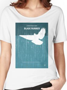 No011 My Blade Runner minimal movie poster Women's Relaxed Fit T-Shirt