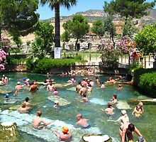 Hierapolis - the antique pool by Maria1606
