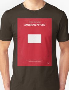No005 My American Psycho minimal movie poster T-Shirt