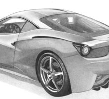 Ferrari  458 Italia Sticker