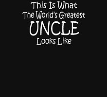 World's Greatest Uncle Fathers Day Birthday Anniversary Unisex T-Shirt