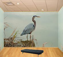 The Great Blue Heron Room by TJ Baccari Photography