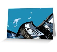 Blue Sky - Lake District Greeting Card