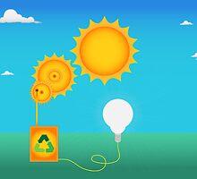 Solar energy by Meletios Verras