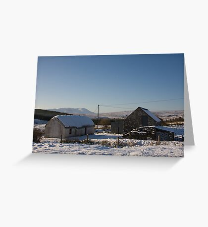 leamagowra winter Greeting Card
