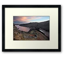 Dawn Above The Rigg & Haweswater Framed Print
