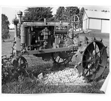 Antique Farmall Tractor Poster