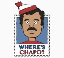 Where's Chapo - Stamp by unluckydevil