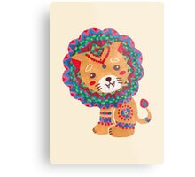 The Little King of the Jungle Metal Print